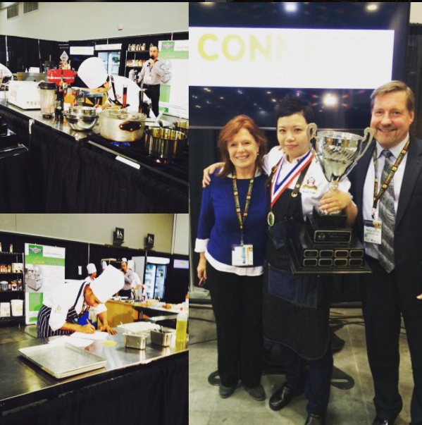 Congrats to chef Sandy of Torafuku Vancouver on winning the Connect Show BC Skilled Iron Chef competition!