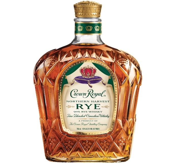 Crown Royal Northern Harvest Rye is the 2016 World Whisky of the Year. (PRNewsFoto/Diageo)